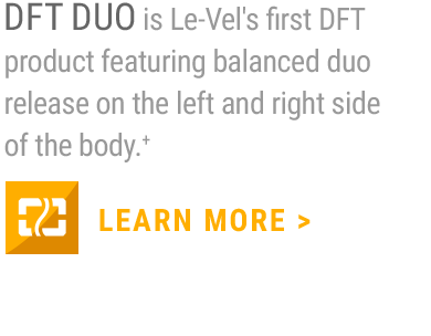 DFT DUO is an incredibly unique and effective product represents the next evolution of DFT from a technology, uptake, formula, and concentration perspective.+                     LEARN MORE
