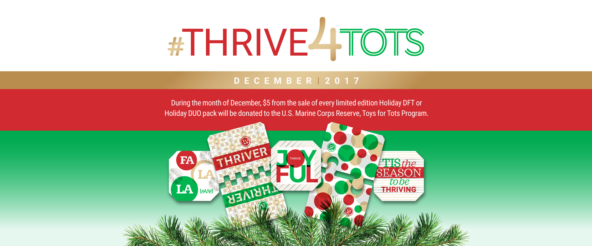 Holiday DFT and DUO - #THRIVE4TOTS