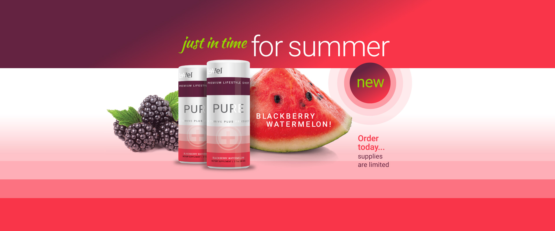 THRIVE Plus : Pure Blackberry Watermelon