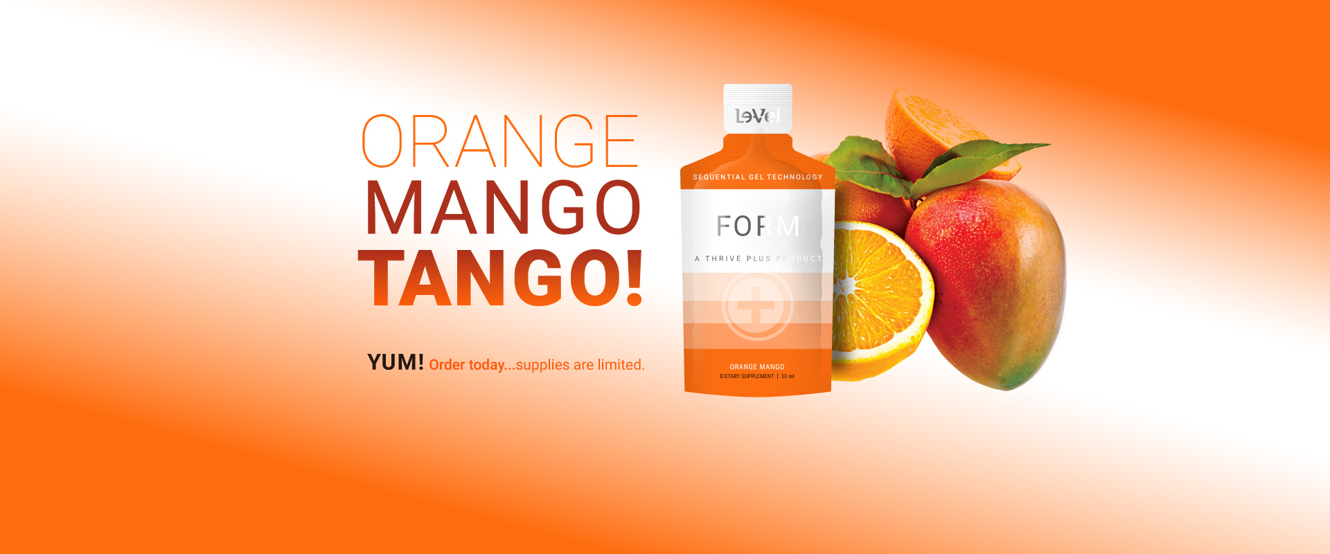 THRIVE Plus : SGT Form Orange Mango