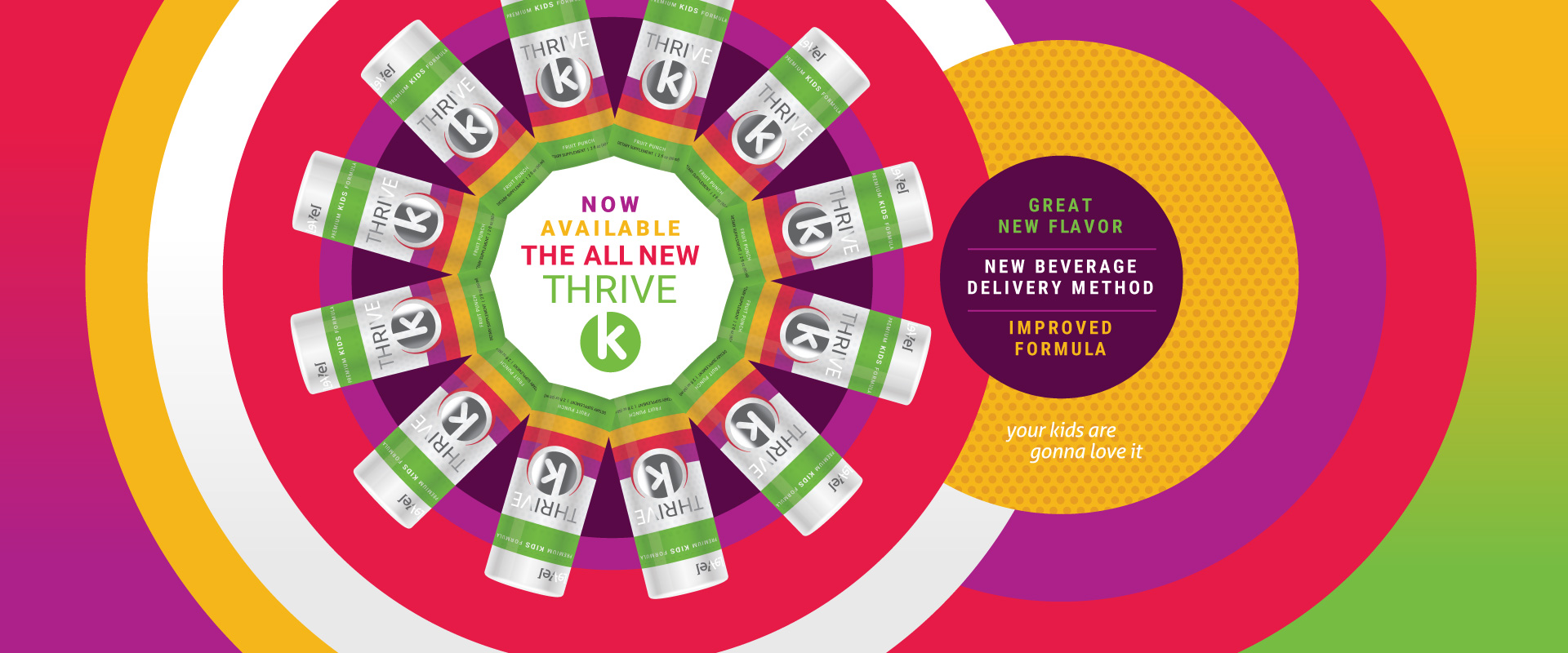 THRIVE Plus : Kids - All new! Now Available!