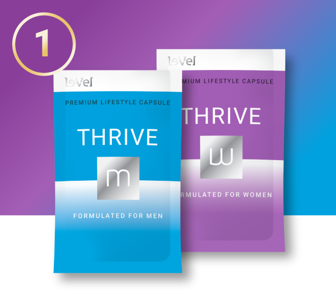 THRIVE Mens and Womens capsules