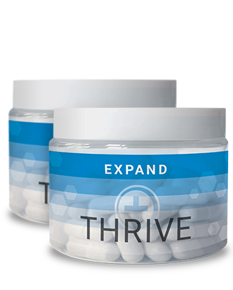 THRIVE EXPAND product packaging