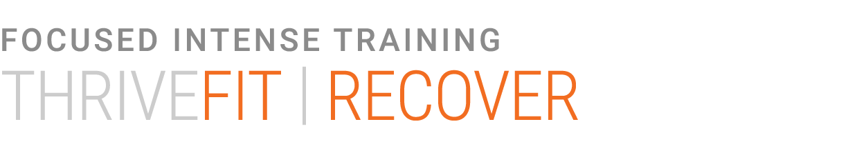 THRIVEFIT - Recover