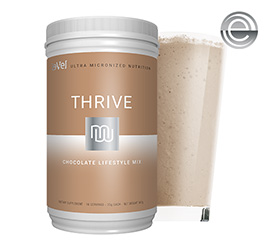 THRIVE 2.0 Premium Chocolate Lifestyle Mix - Canister
