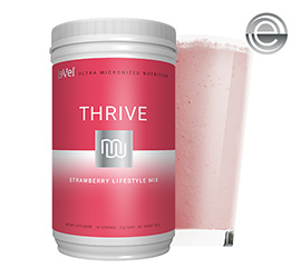 THRIVE 2.0 Premium Strawberry Lifestyle Mix - Canister