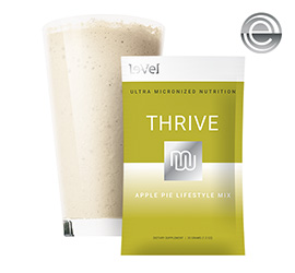 THRIVE 2.0 Premium Apple Pie Lifestyle Mix - Single Serve