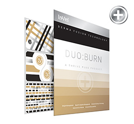 THRIVE Plus - BURN Metallic Gold, Silver & Black