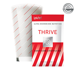 THRIVE Premium Candy Cane Lifestyle Mix - Single Serve