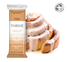 THRIVE PRO - Cinnamon Roll Bar