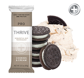 THRIVE PRO - Cookies & Cream Bar