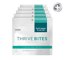 THRIVE BITES - Black Pepper & Sea Salt
