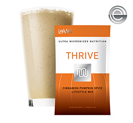 THRIVE 2.0 Premium Cinnamon Pumpkin Spice Lifestyle Mix - Single Serve